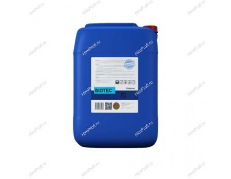 Щелочное беспенное моющее средство Biotec 25 кг.