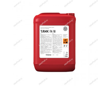 Кислотное высокопенное моющее средство TANK FA 18 23 кг.