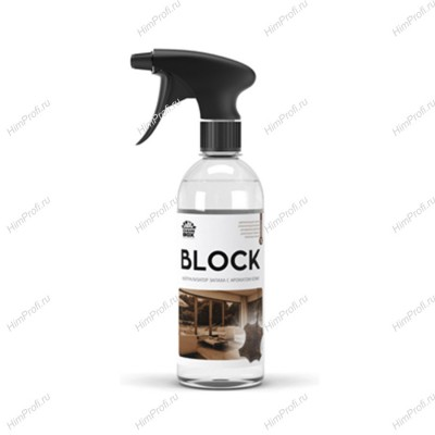 Нейтрализатор запаха Block с ароматом кожи